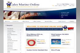 Caley Marine Online
